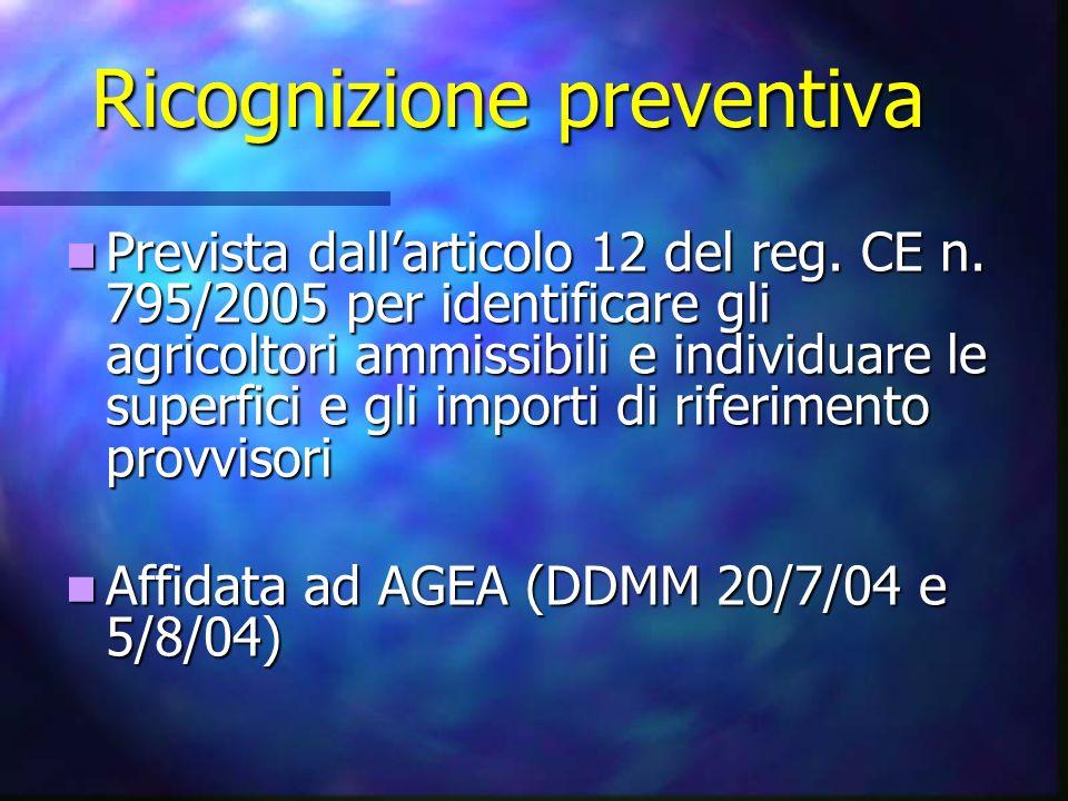 Ricognizione preventiva