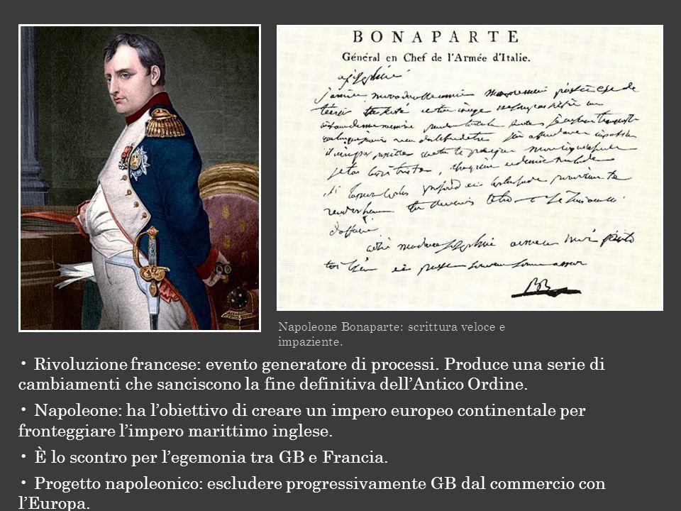 È lo scontro per l'egemonia tra GB e Francia.