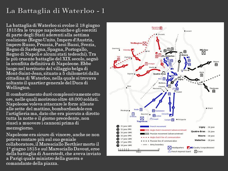 La Battaglia di Waterloo - 1
