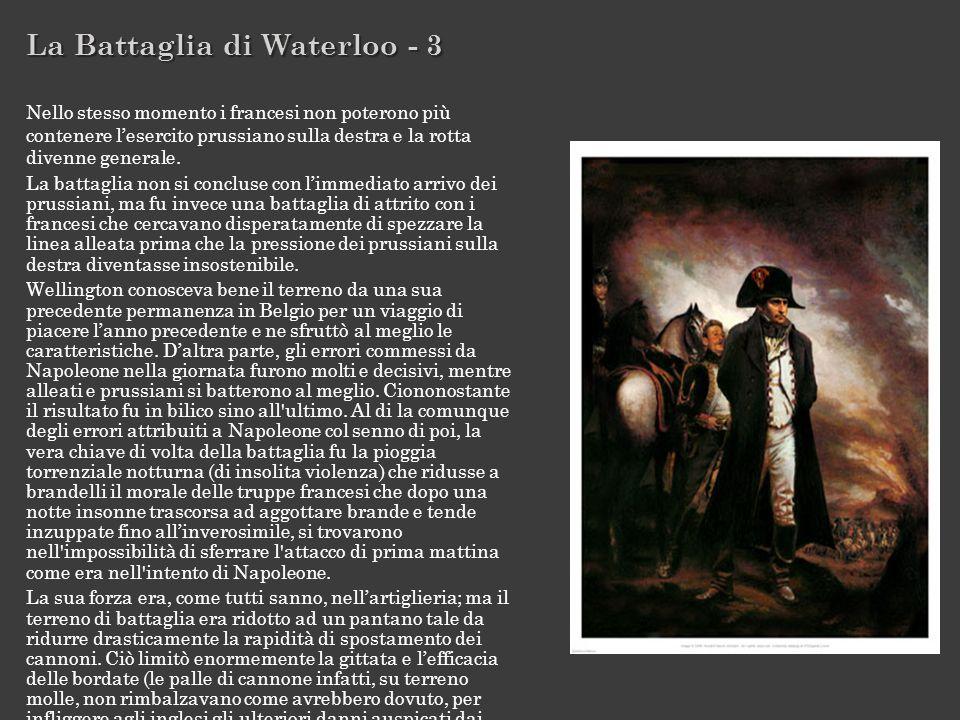 La Battaglia di Waterloo - 3