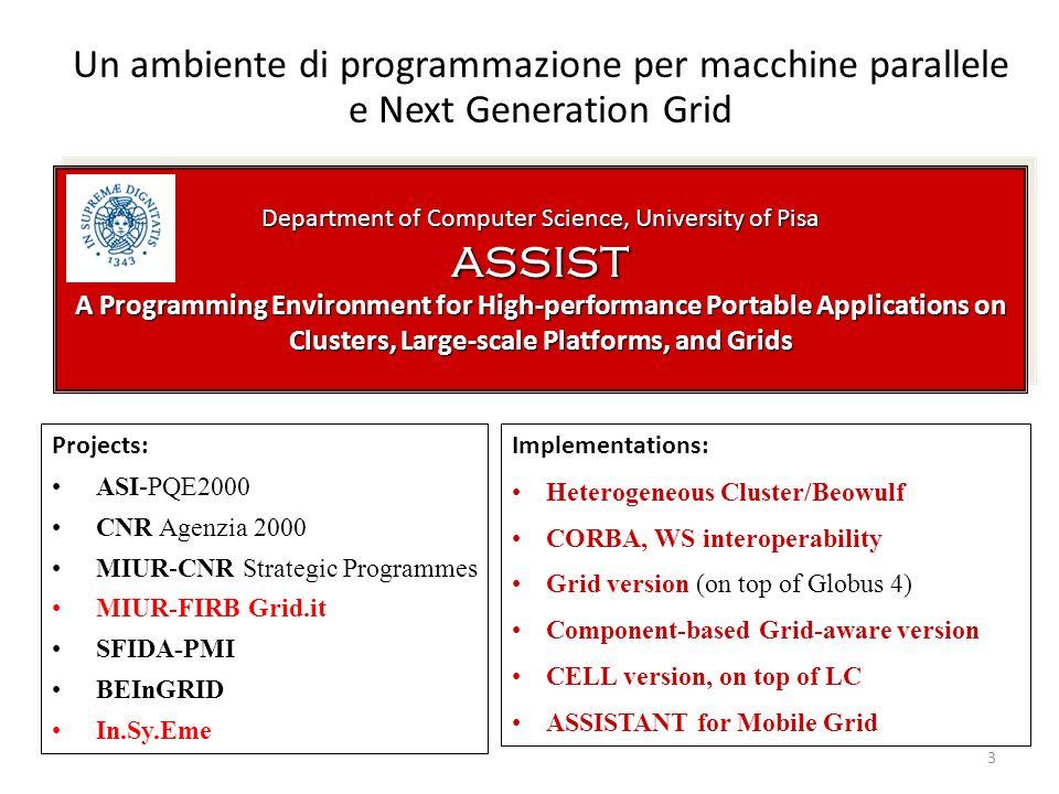 Department of Computer Science, University of Pisa