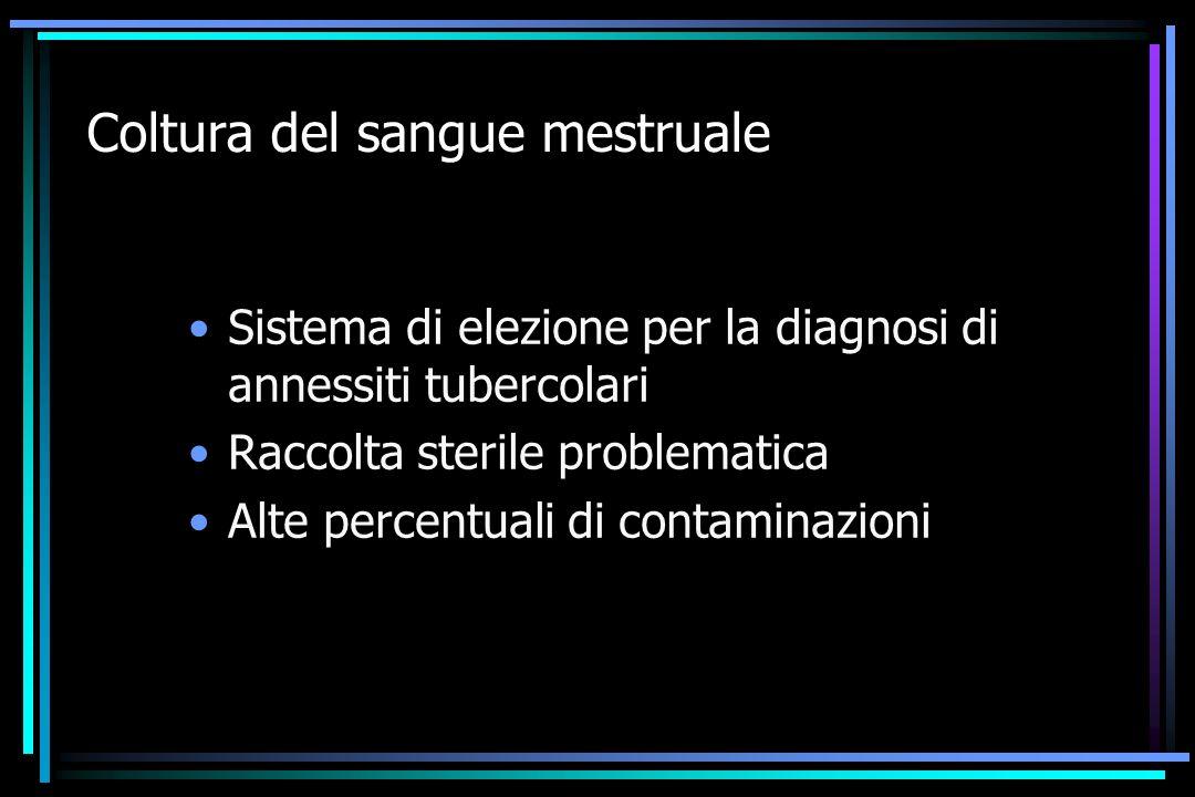 Coltura del sangue mestruale