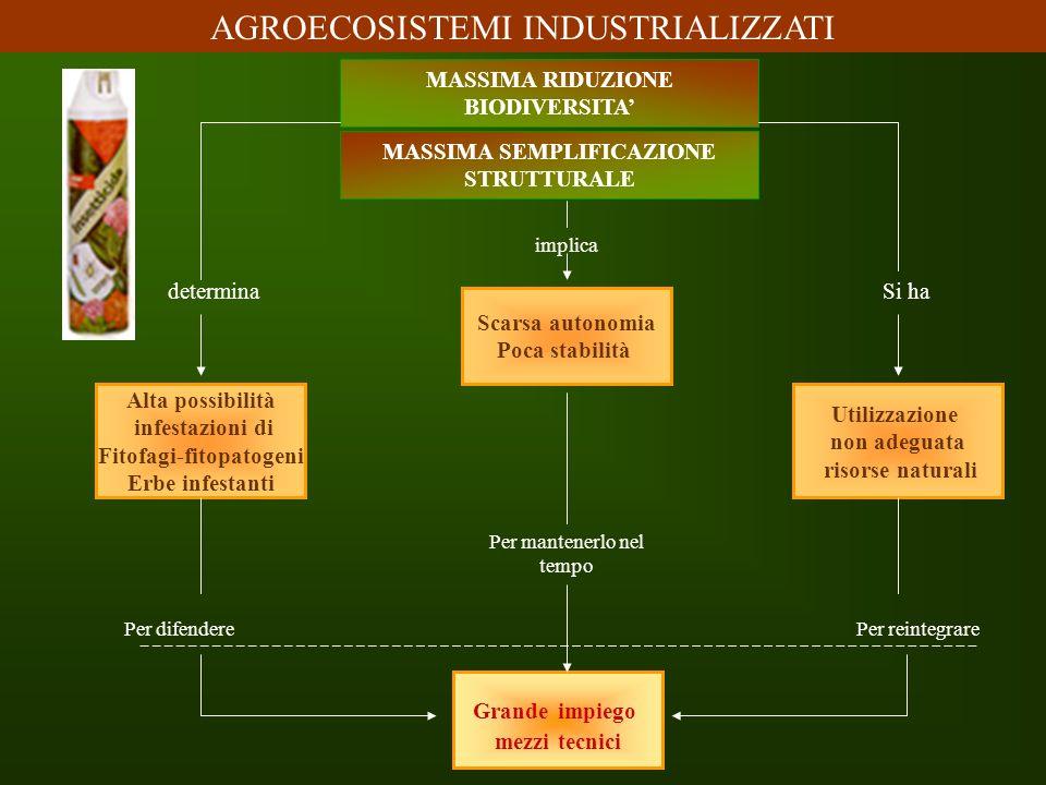 MASSIMA SEMPLIFICAZIONE Fitofagi-fitopatogeni