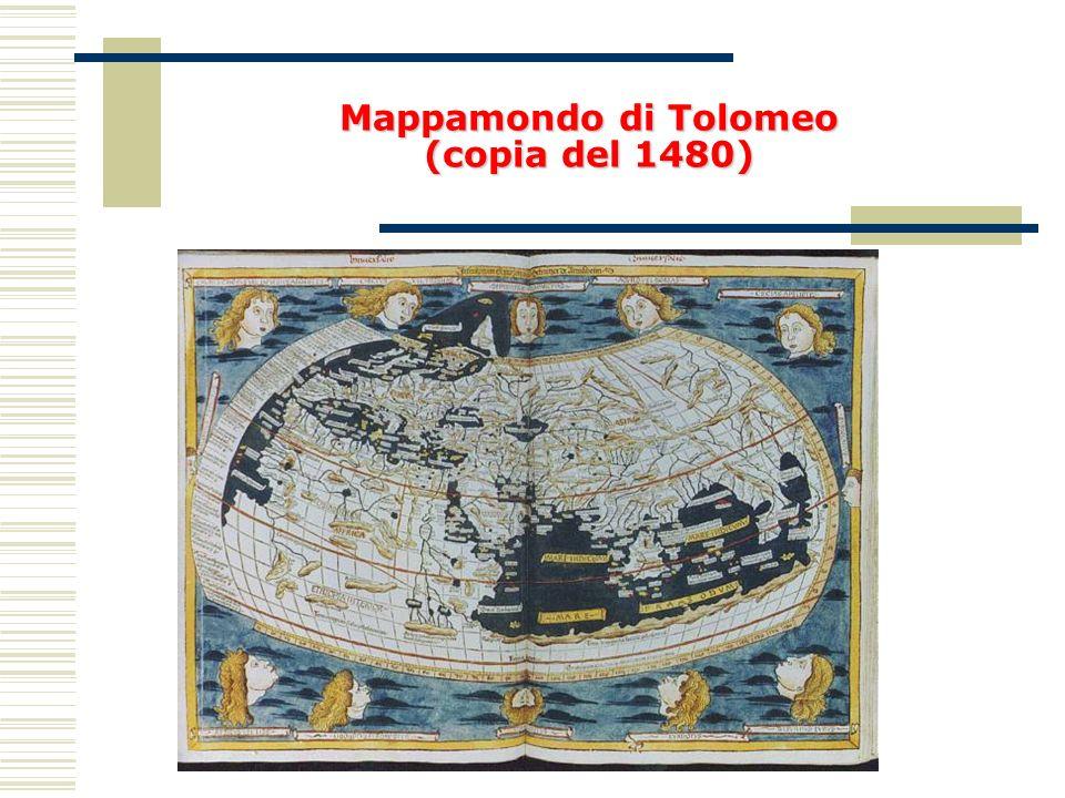 Mappamondo di Tolomeo (copia del 1480)