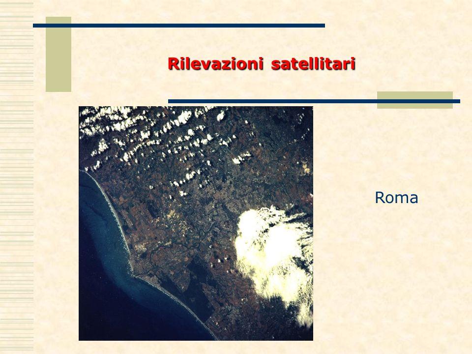 Rilevazioni satellitari