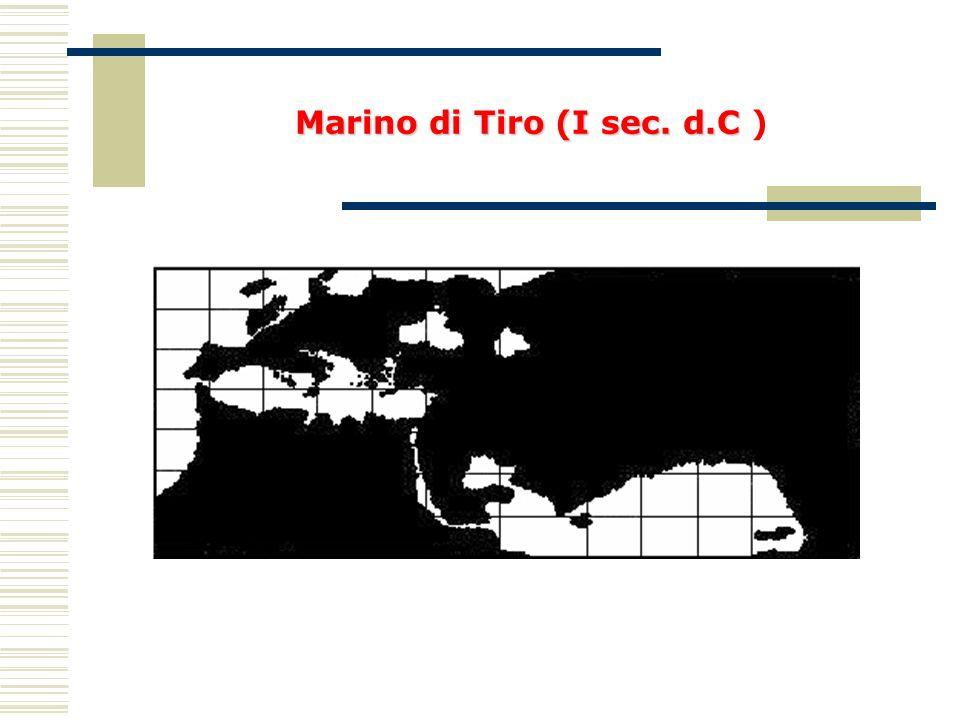 Marino di Tiro (I sec. d.C )