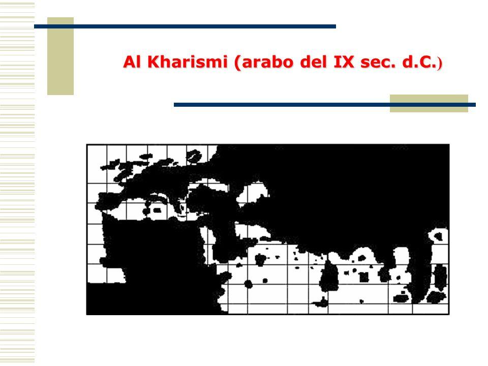 Al Kharismi (arabo del IX sec. d.C.)