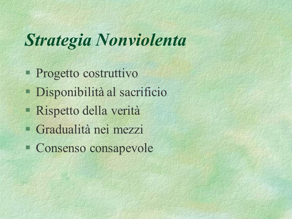 Strategia Nonviolenta