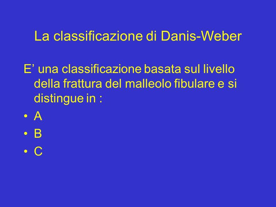 La classificazione di Danis-Weber