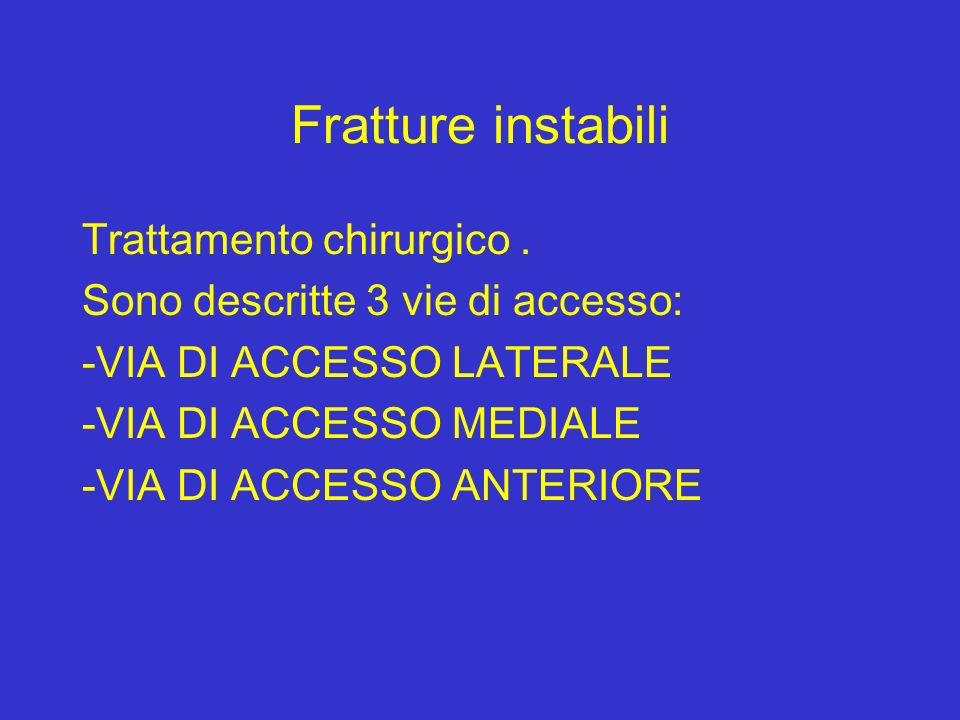 Fratture malleolari dr t bassarelli ppt video online for Garage di accesso laterale