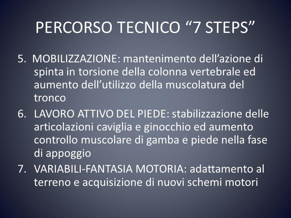 PERCORSO TECNICO 7 STEPS
