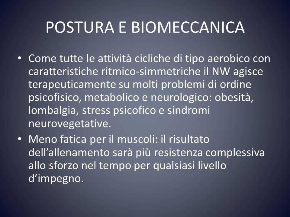 POSTURA E BIOMECCANICA