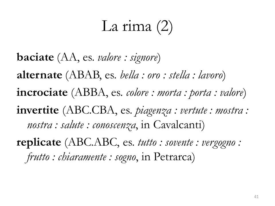 La rima (2)