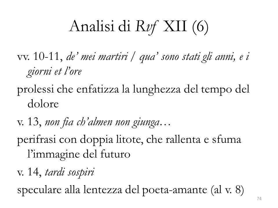 Analisi di Rvf XII (6)
