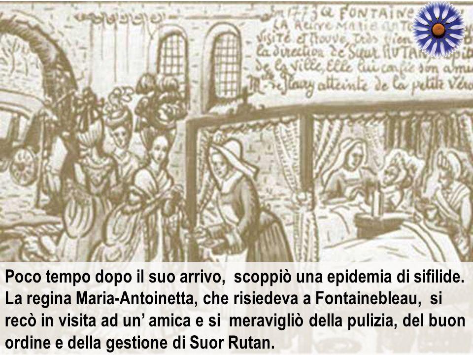 Poco tempo dopo il suo arrivo, scoppiò una epidemia di sifilide
