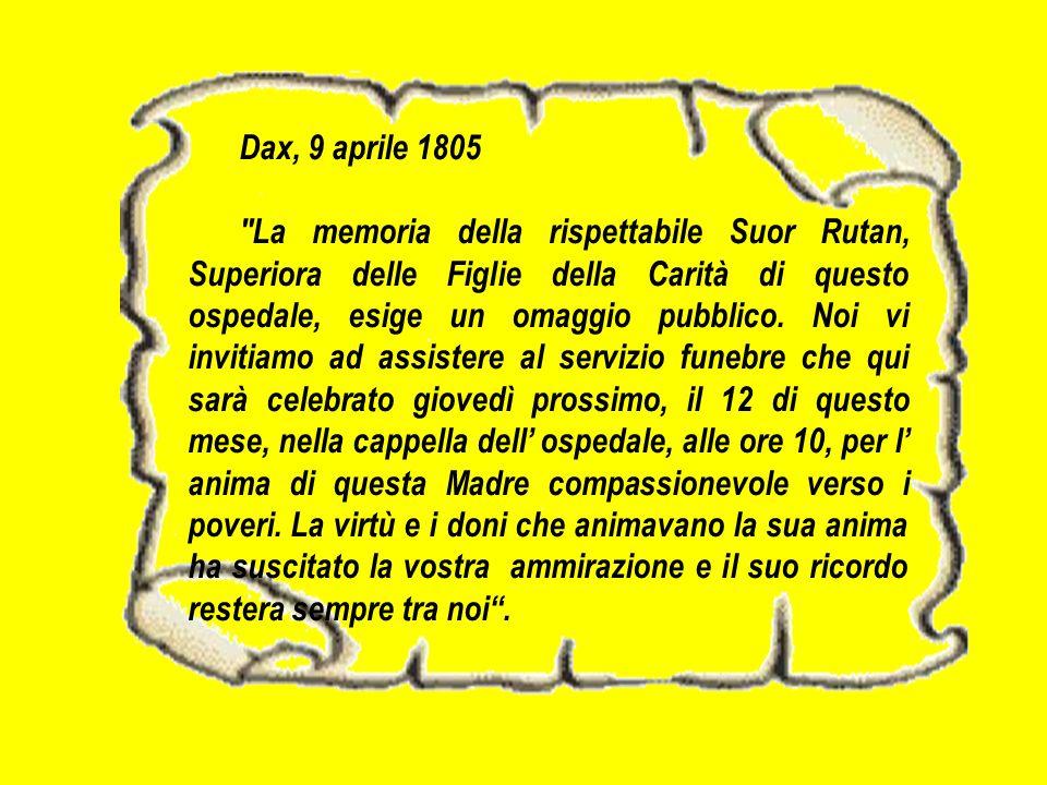 Dax, 9 aprile 1805