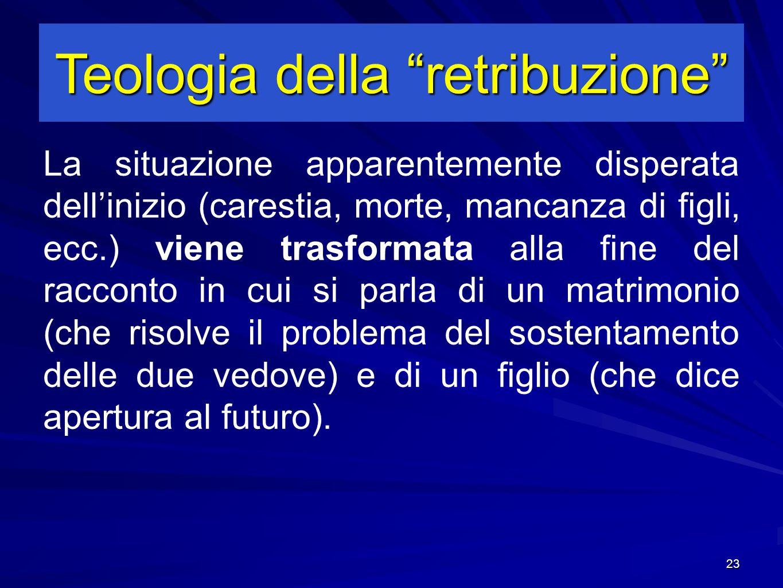 Teologia della retribuzione