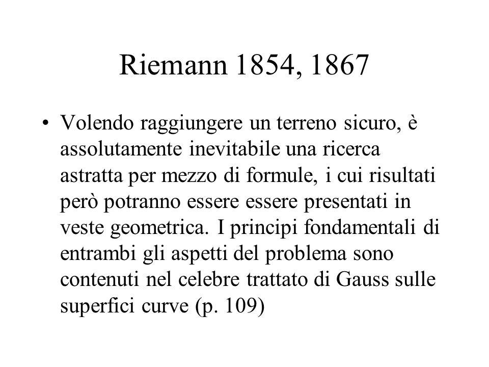 Riemann 1854, 1867