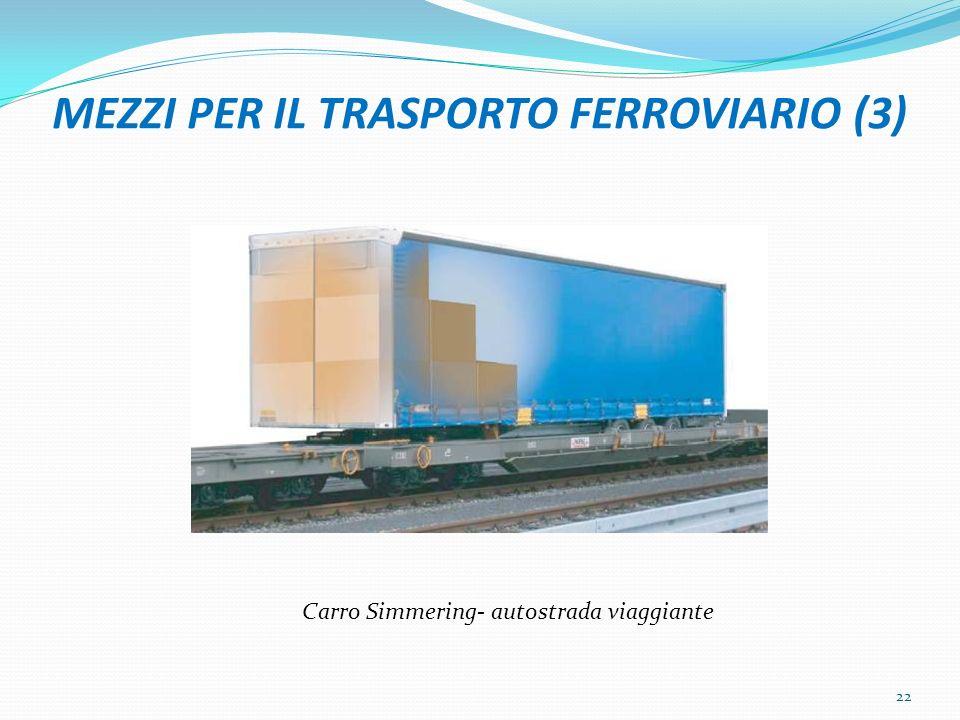 MEZZI PER IL TRASPORTO FERROVIARIO (3)