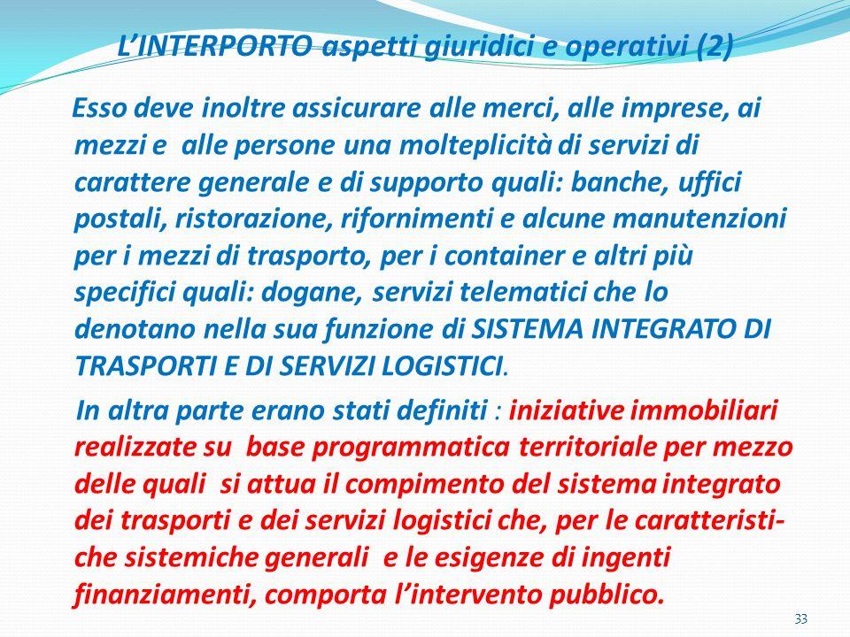 L'INTERPORTO aspetti giuridici e operativi (2)