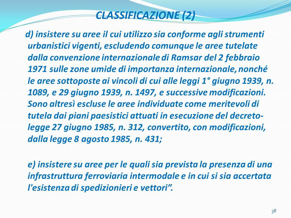 CLASSIFICAZIONE (2)