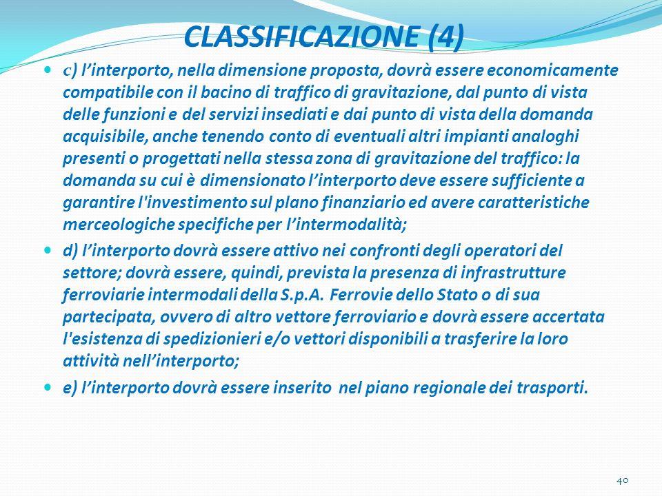 CLASSIFICAZIONE (4)