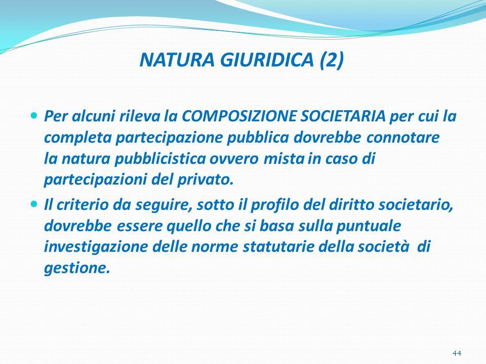 NATURA GIURIDICA (2)