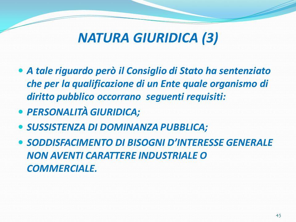 NATURA GIURIDICA (3)