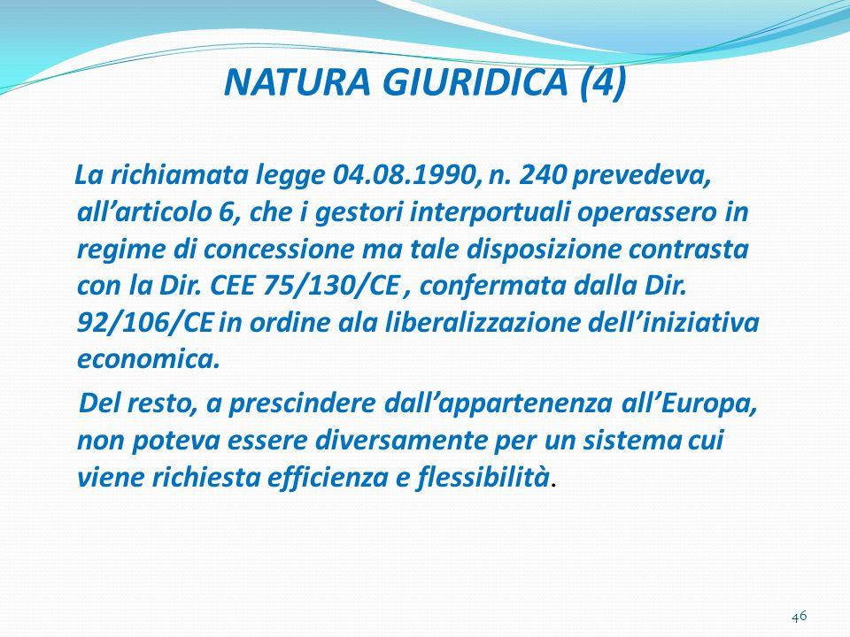 NATURA GIURIDICA (4)