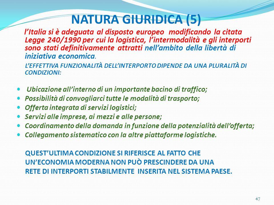 NATURA GIURIDICA (5)