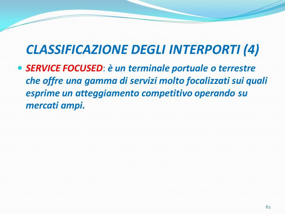 CLASSIFICAZIONE DEGLI INTERPORTI (4)