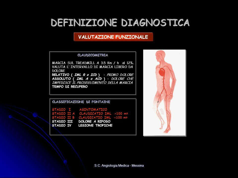DEFINIZIONE DIAGNOSTICA