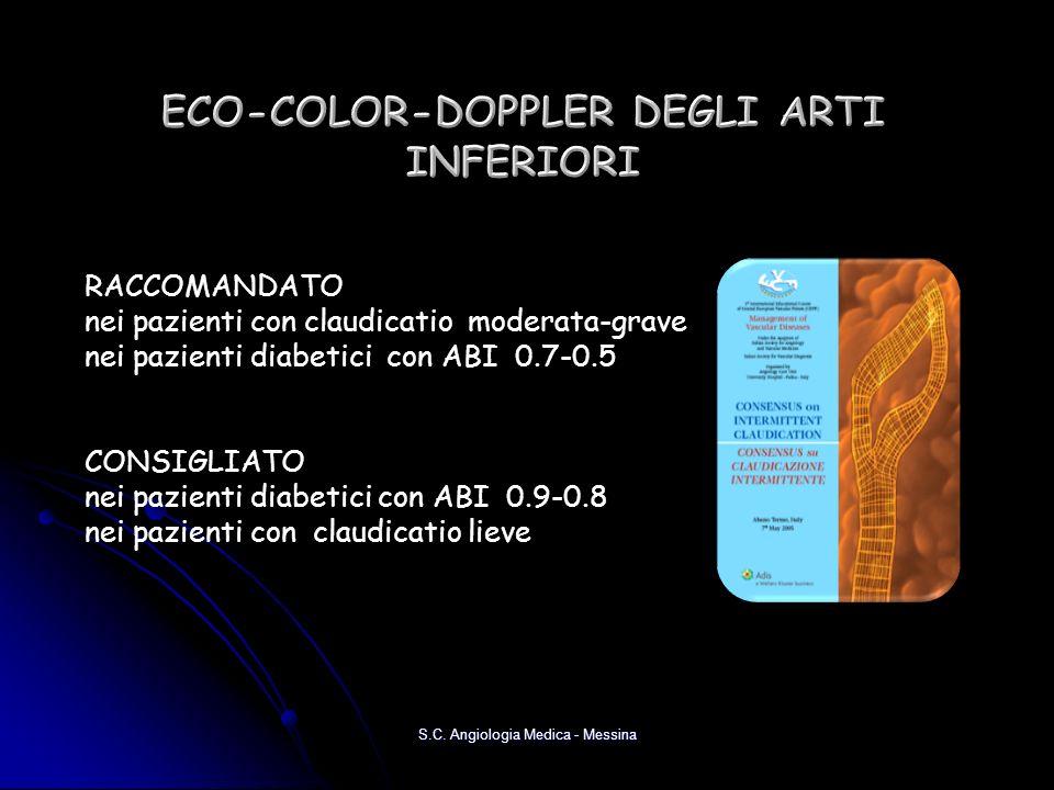 ECO-COLOR-DOPPLER DEGLI ARTI INFERIORI