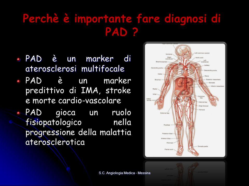 Perchè è importante fare diagnosi di PAD