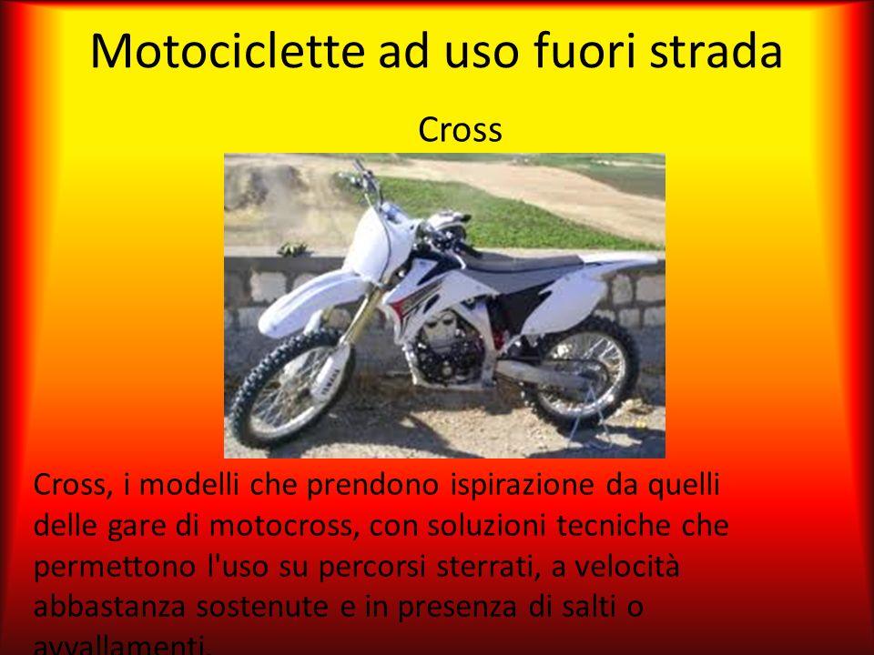 Motociclette ad uso fuori strada