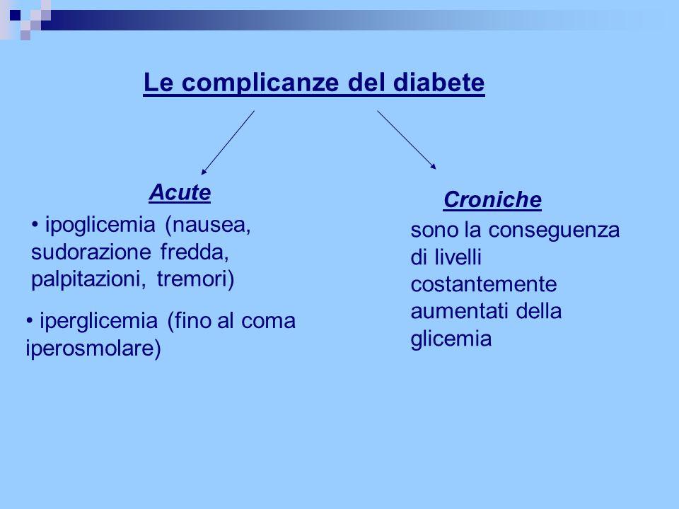 Le complicanze del diabete