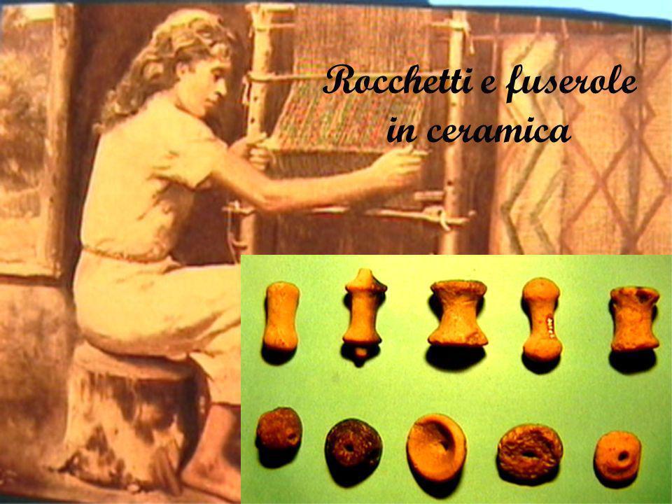 Rocchetti e fuserole in ceramica