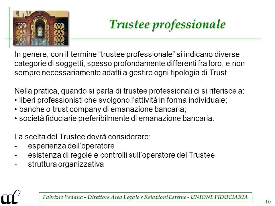 Trustee professionale