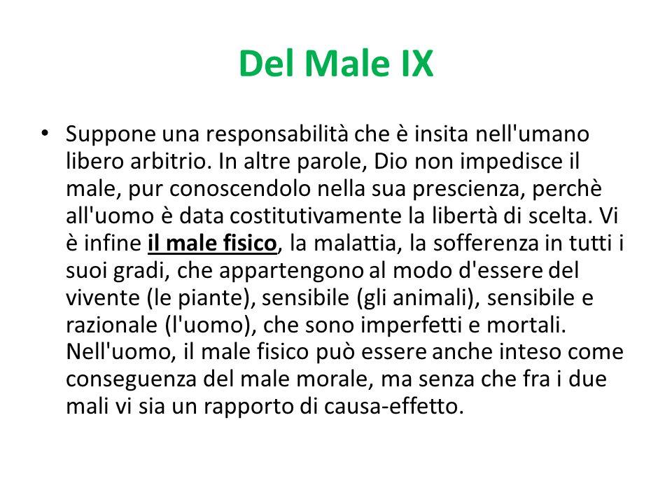 Del Male IX