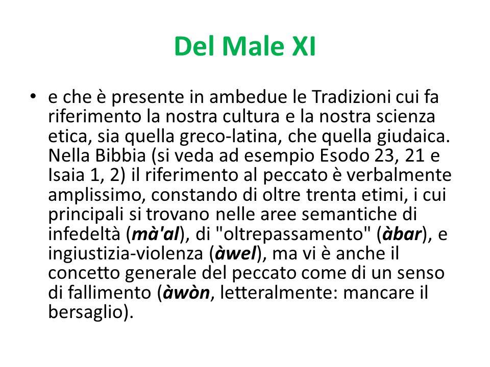 Del Male XI