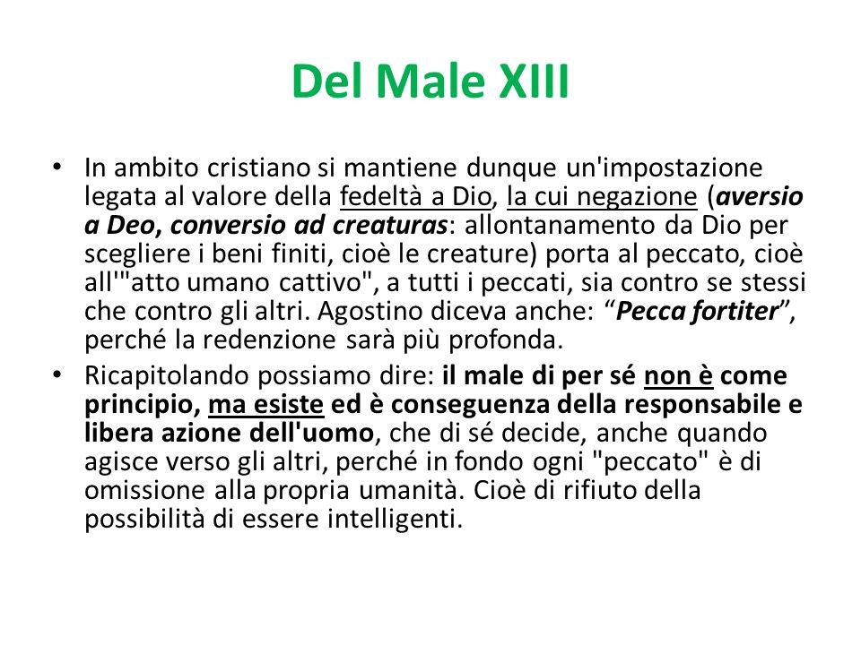 Del Male XIII