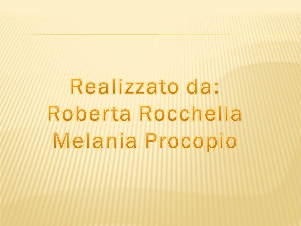 Roberta Rocchella Melania Procopio