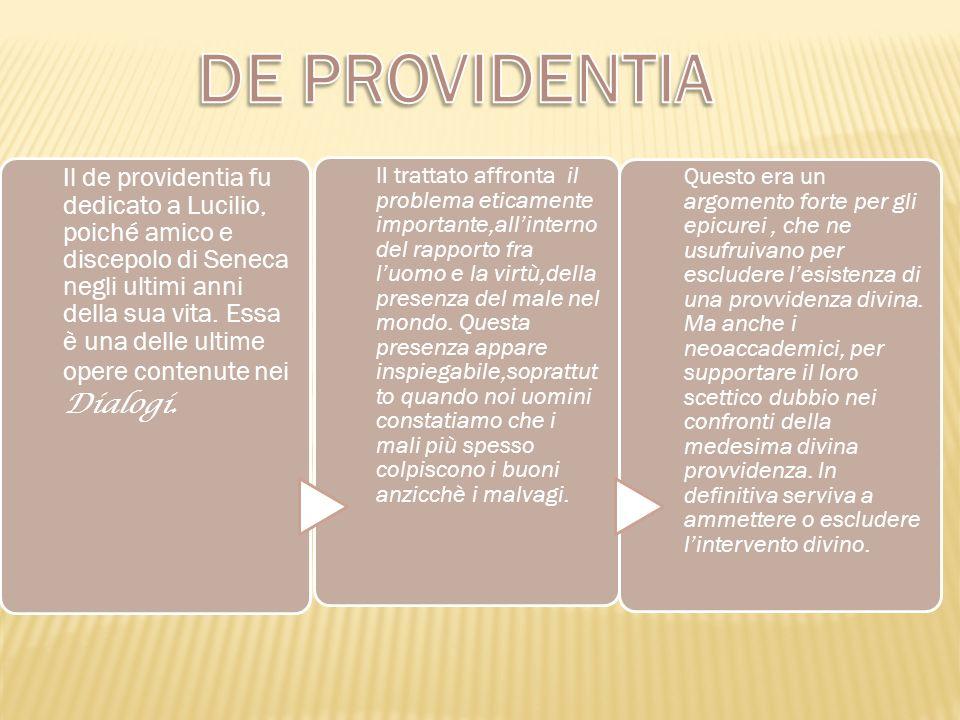 DE PROVIDENTIA