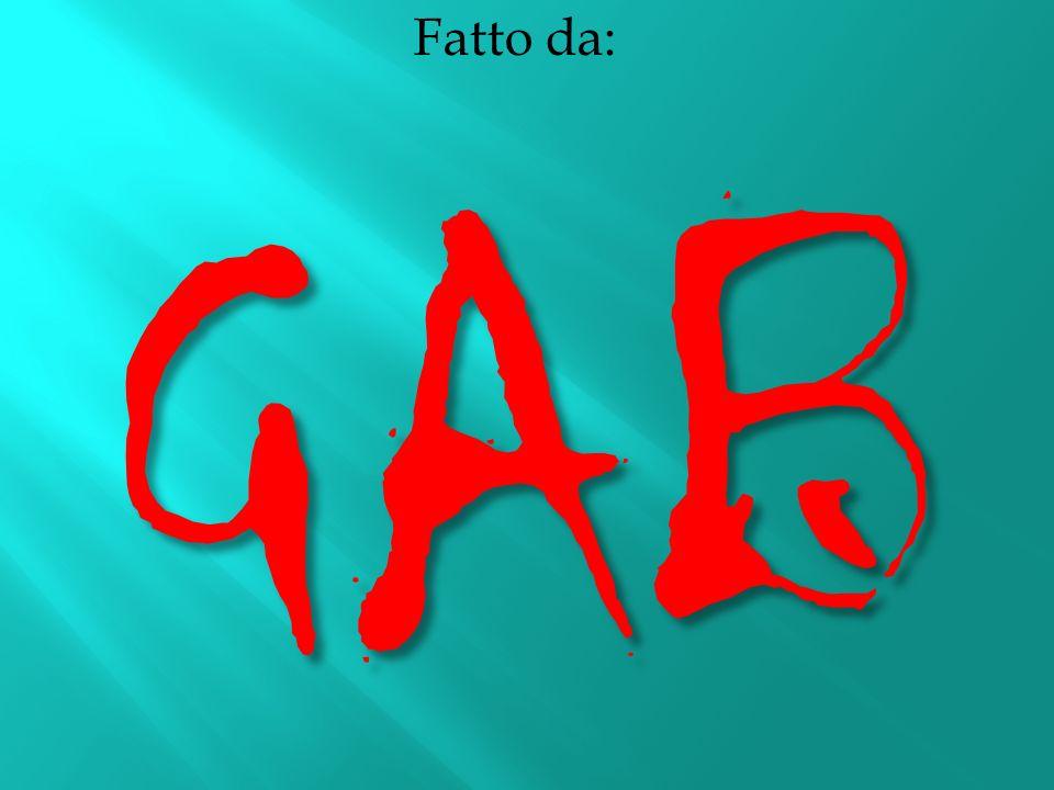 Fatto da: GAB