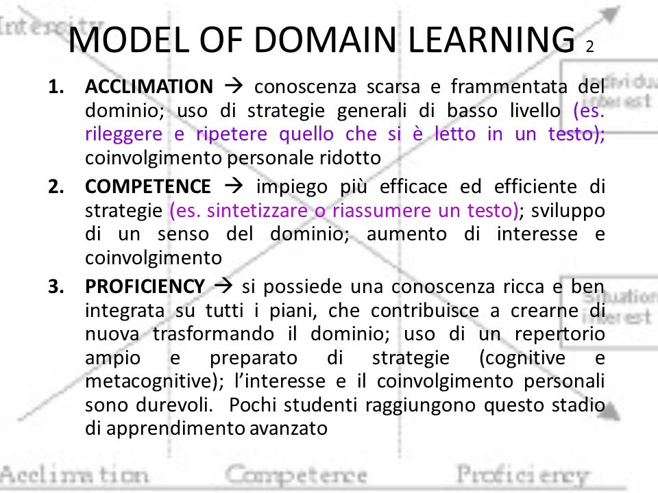 MODEL OF DOMAIN LEARNING 2