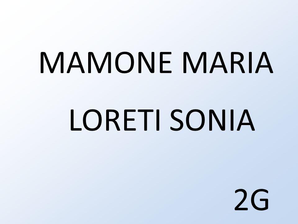 MAMONE MARIA LORETI SONIA 2G