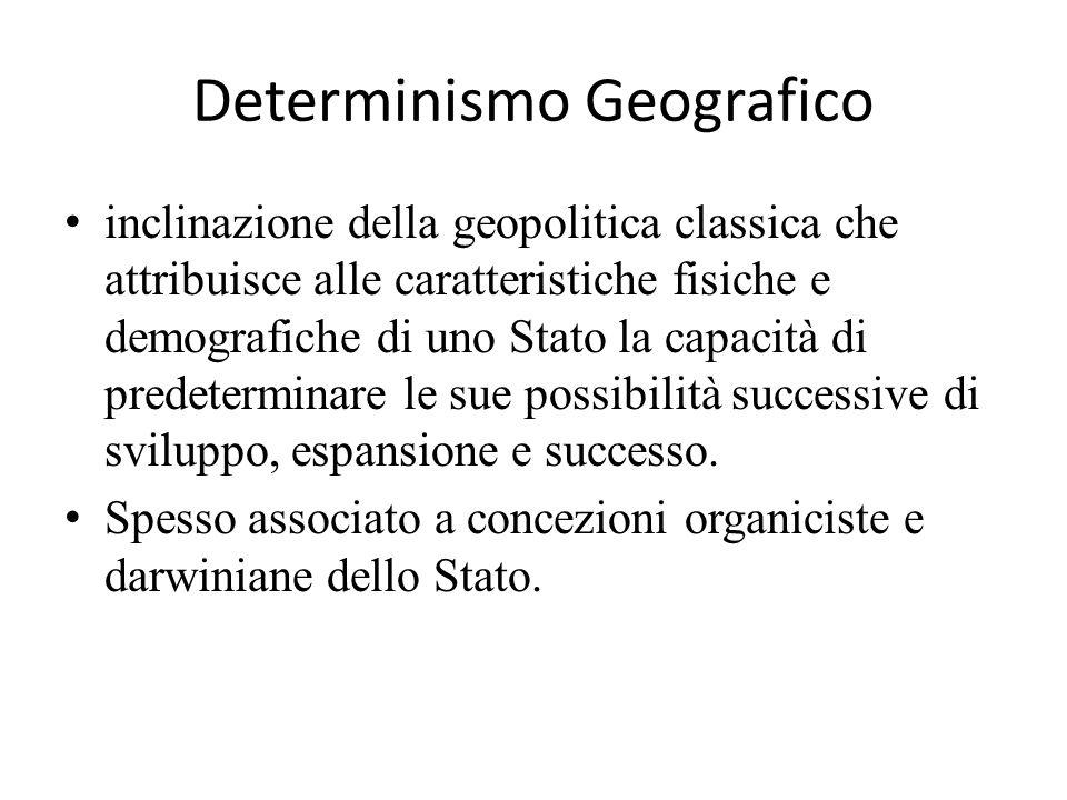 Determinismo Geografico