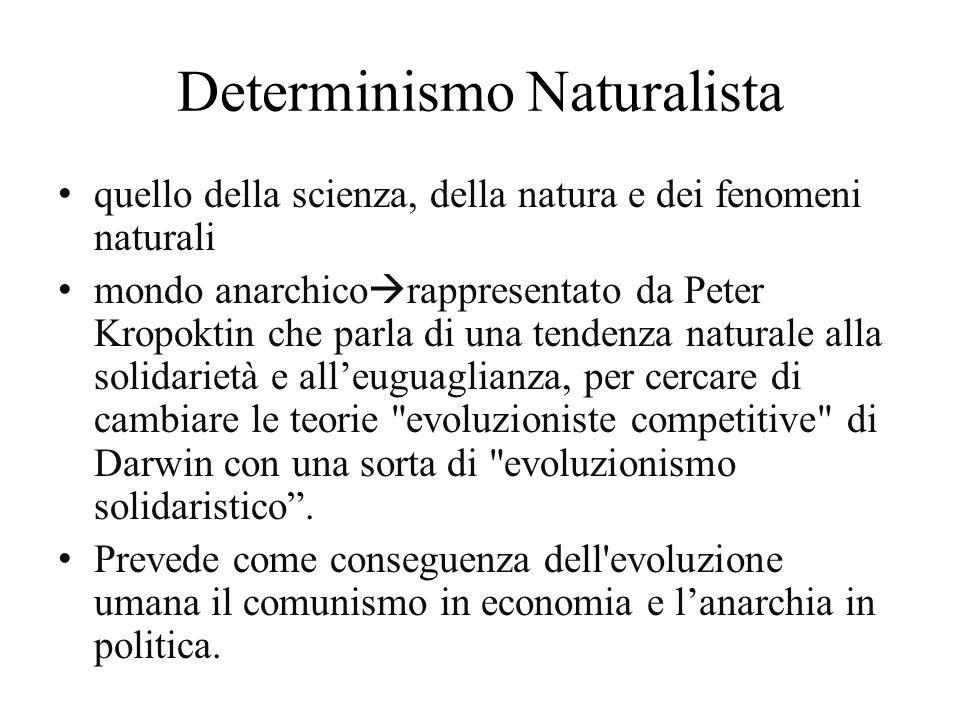 Determinismo Naturalista