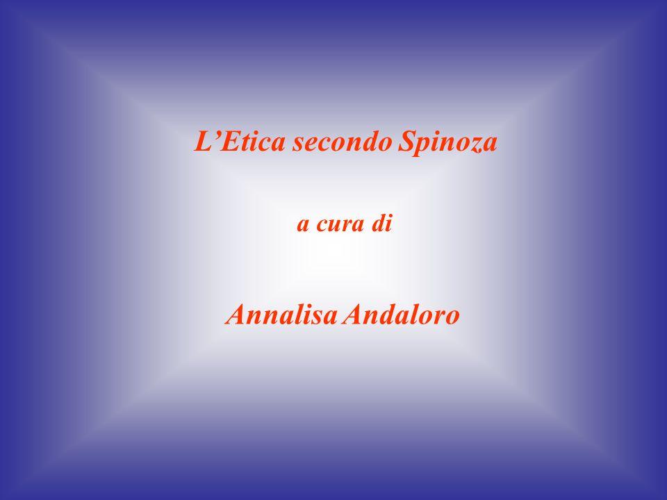 L'Etica secondo Spinoza