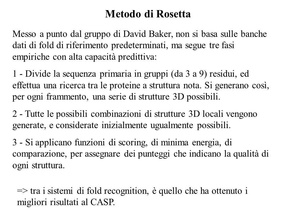 Metodo di Rosetta